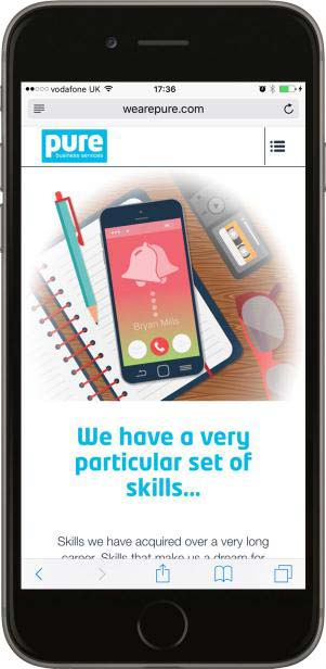 Portfolio Responsive Phone Centre Voice pbs